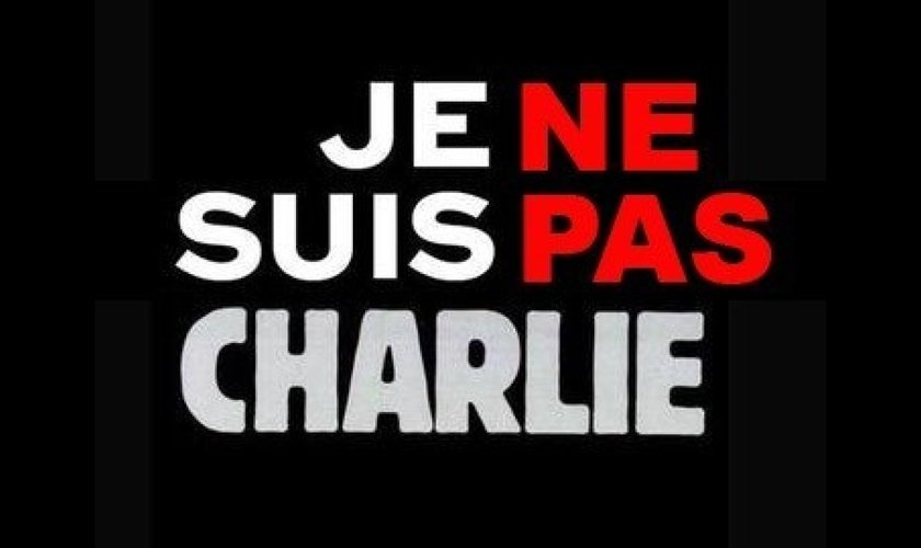 Protesto em favor do jornal Charlie Hebdo