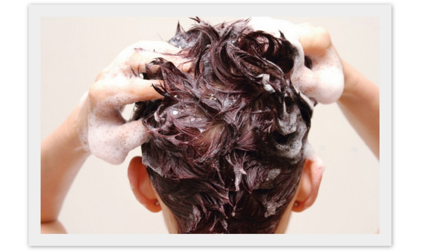 tipos de cabelos e lavagens