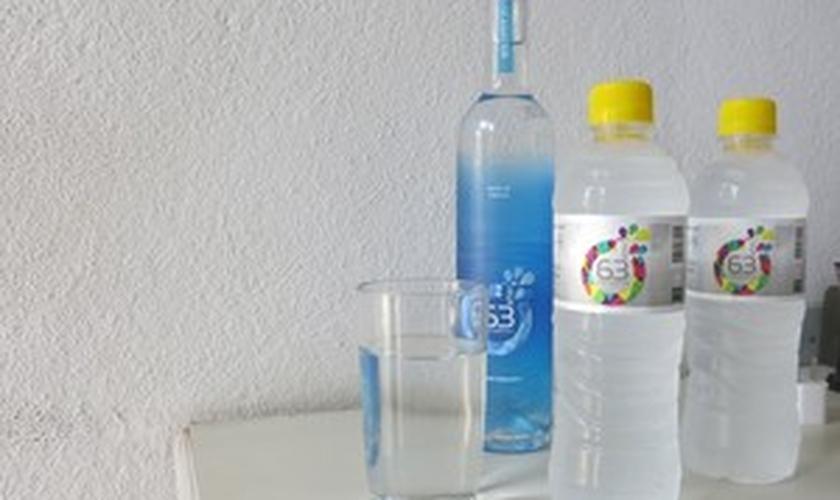 água do mar tratada