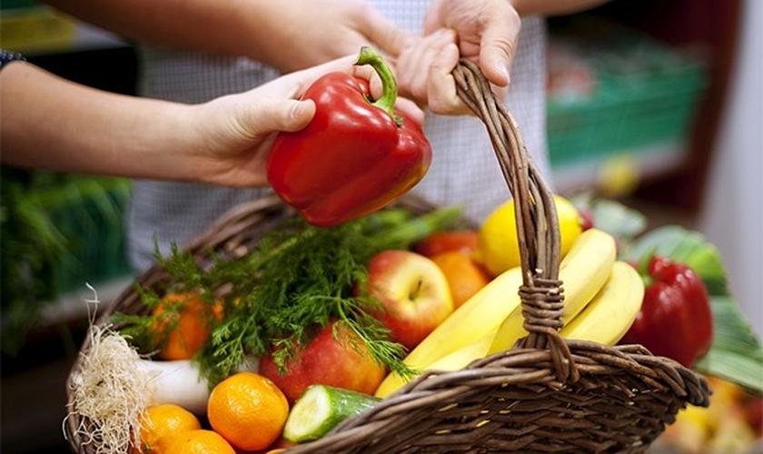 frutas e verduras frescas