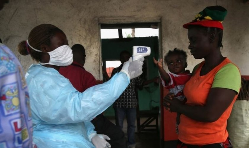 novos casos de ebola