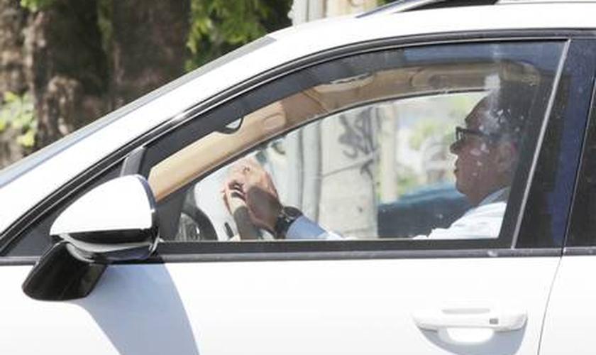 juiz flagrado ao volante