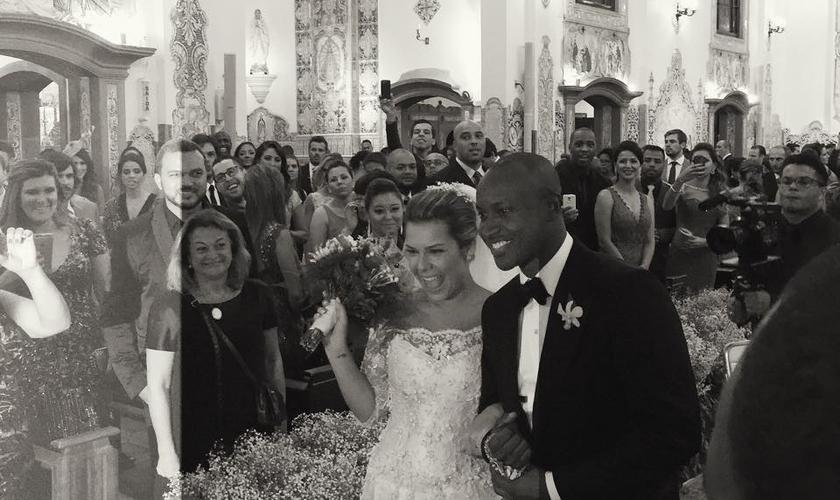 A cerimônia aconteceu na última terça-feira, 24/02, com a participação de Leonardo Gonçalves e Daniela Araújo.