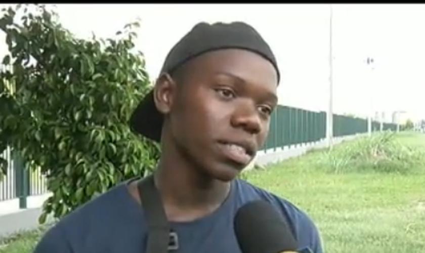 Chaun Jambre de 19 anos, baleado por um erro policial na comunidade da Palmeirinha, em Honório Gurgel, na zona norte do Rio de Janeiro.