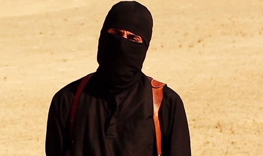 Mohammed Emwazi, no vídeo vídeo do assassinato do jornalista americano James Foley.