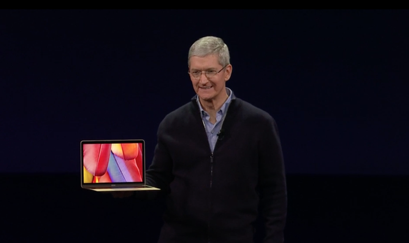 Novidades da Apple apresentadas pelo CEO, Tim Cook