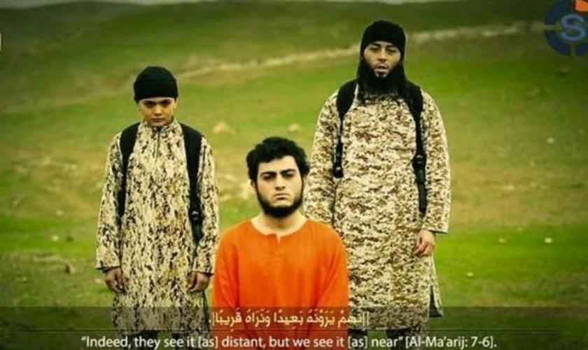 Garoto do  Estado Islâmico mata espião árabe-israelense