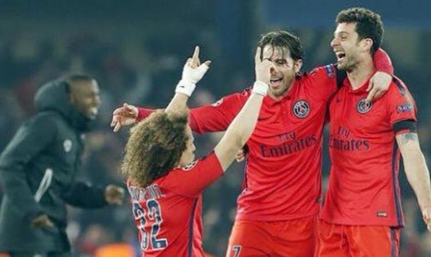 David Luiz agradece a Deus por vitória do PSG