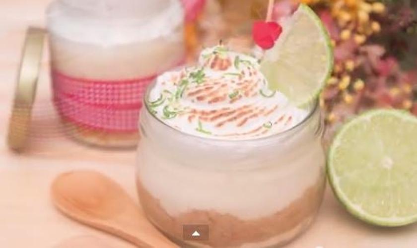 Torta de Limão no Potinho