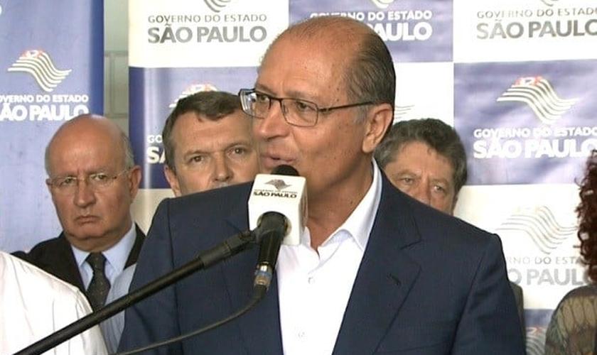 Geraldo Alckmin em Campinas