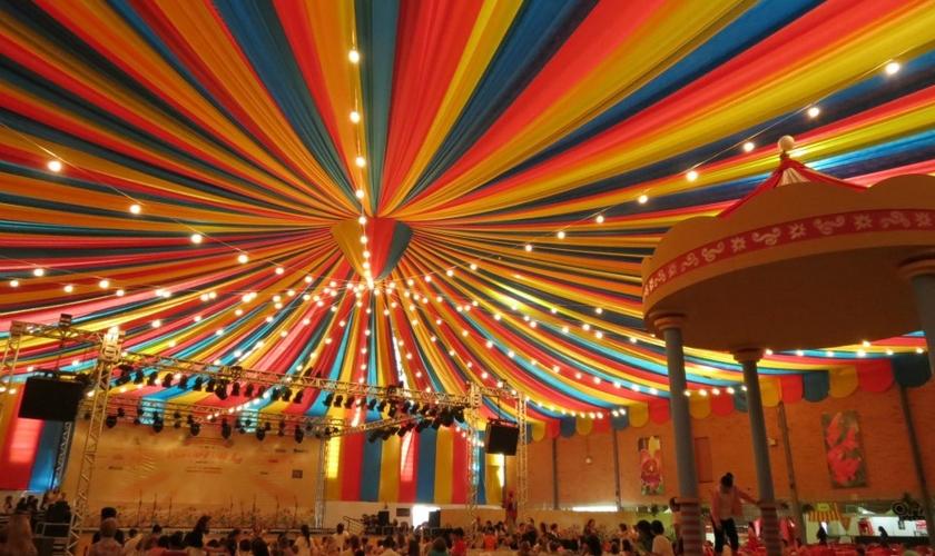 Tenda de circo _
