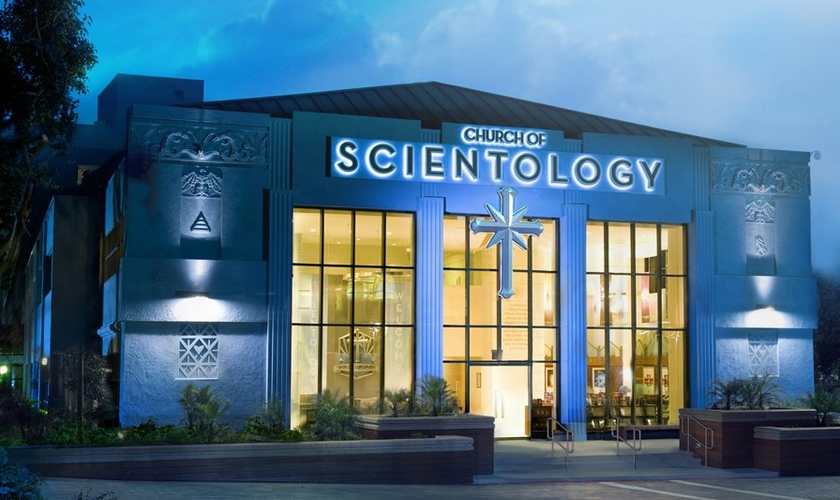 Pode parecer ficção científica, mas a Igreja da Cientologia é real.