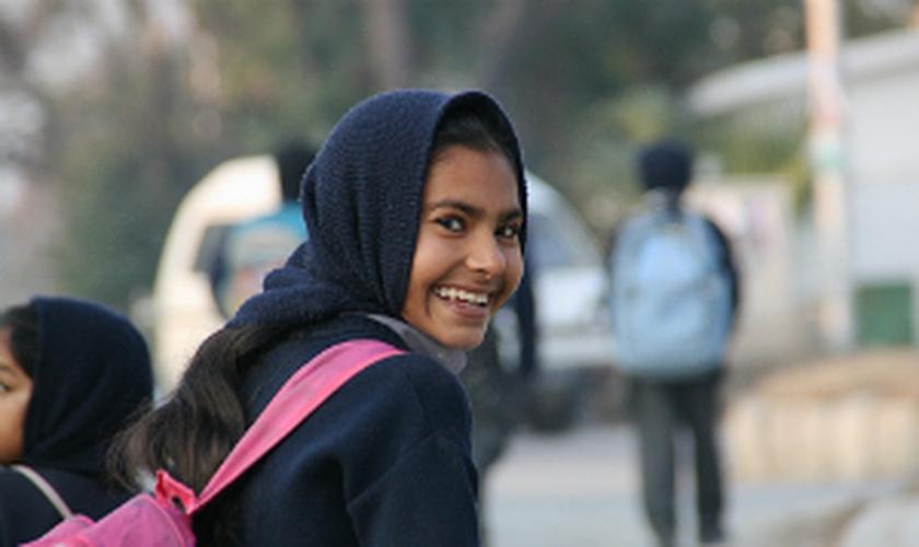 Joyann é uma cristã do Paquistão que segue carreira no futebol