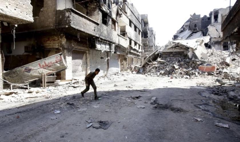 Síria desolada