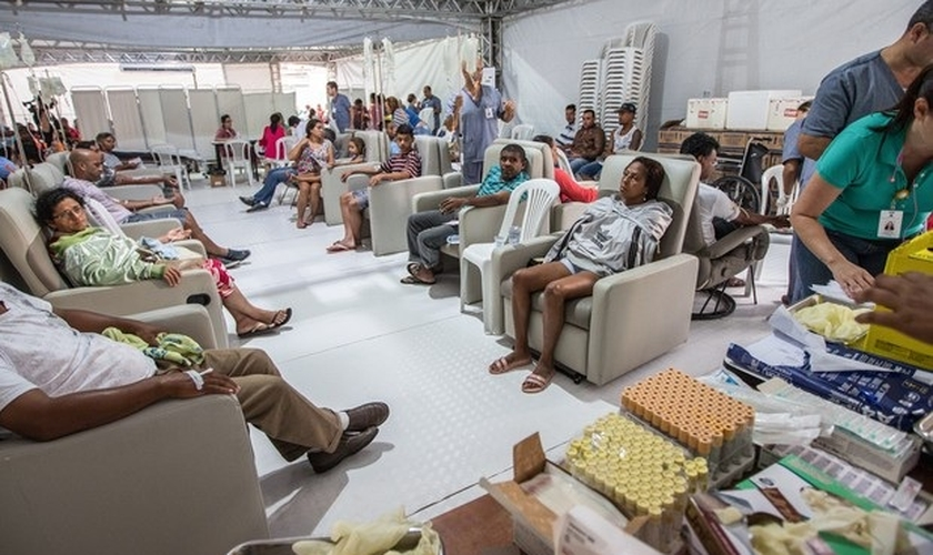 Pacientes com dengue
