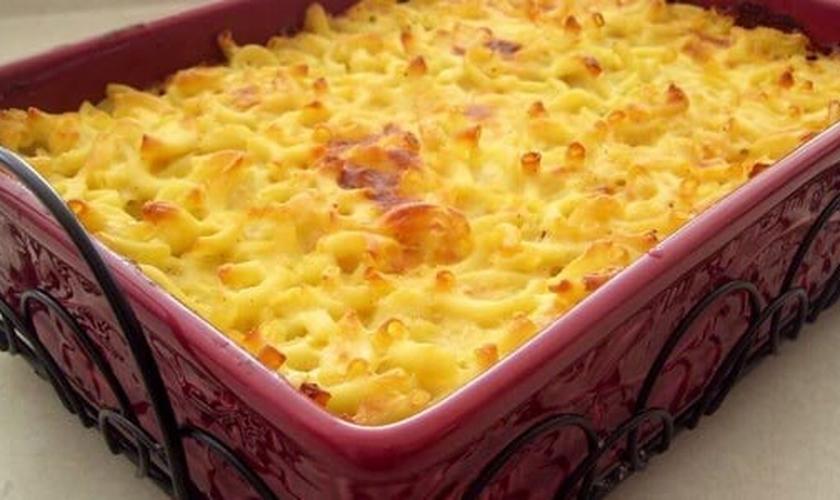 Torta de macarrão