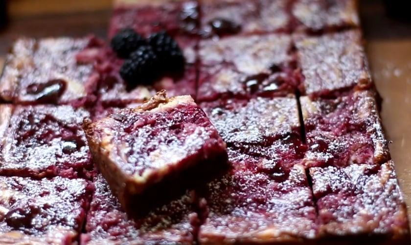 Brownie Cheesecake de Amora