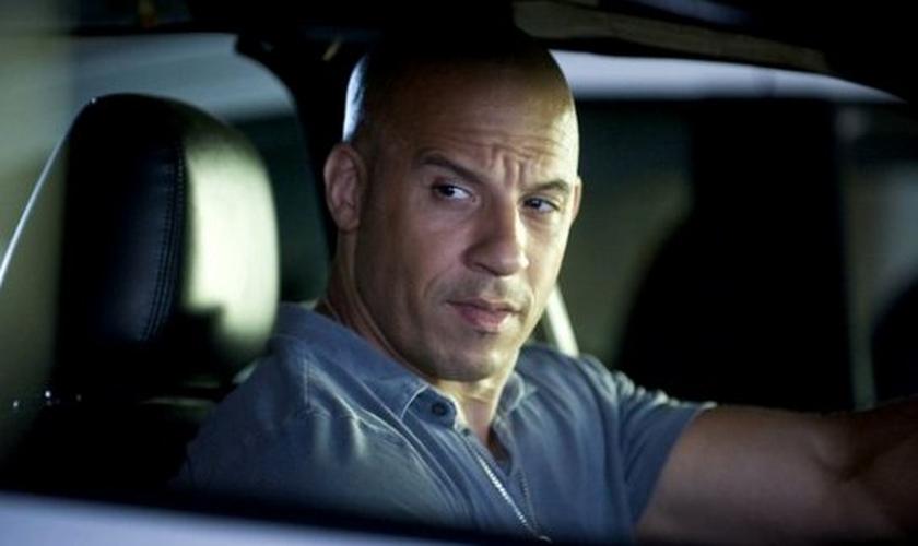 Vin Diesel em Velozes e Furiosos