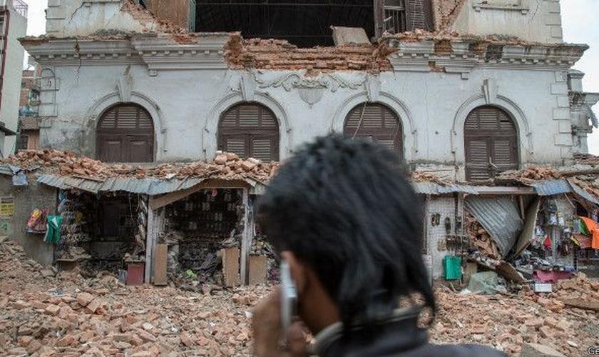Ainda não se sabe a extensão dos danos causados por terremoto .