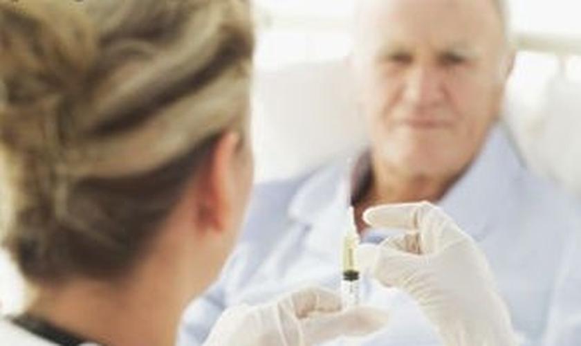 Campanha de vacinação contra gripe em São Paulo