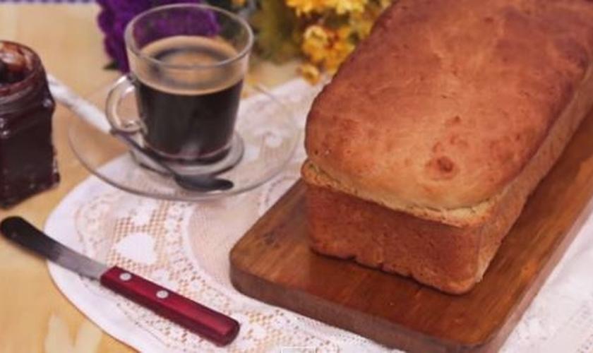 Pão de forma caseiro fácil