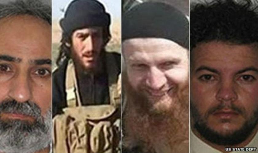 Líderes do Estado Islâmico procurados pelos EUA