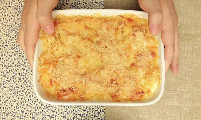 Mac and cheese ao forno