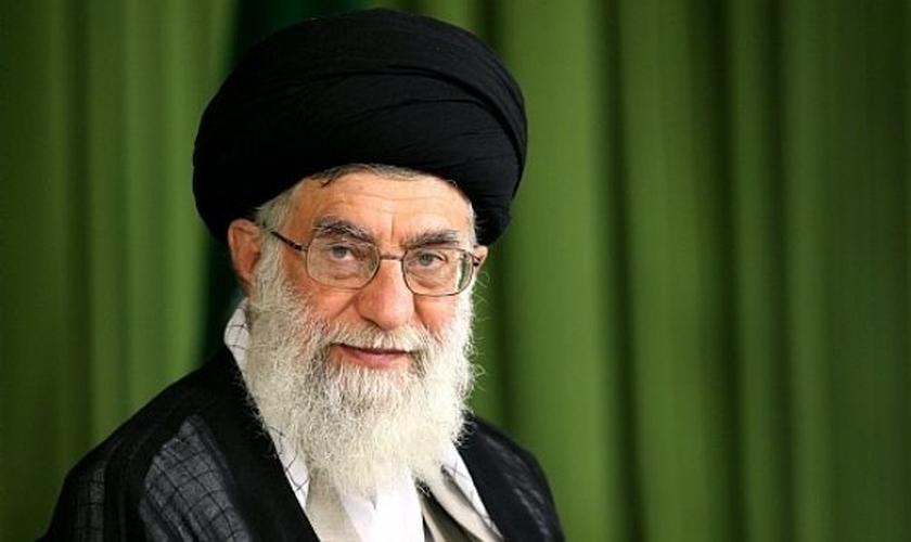 Ali Khamenei, líder supremo do Irã.