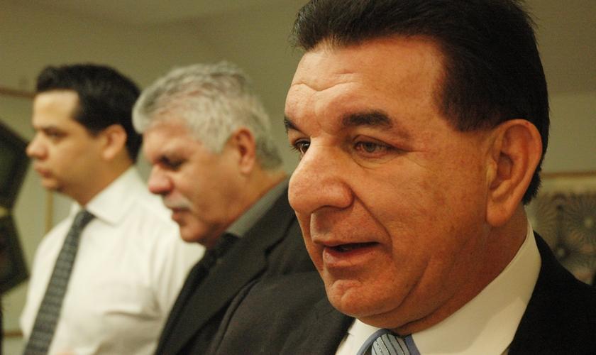 Pastor Jabes Alencar, fundador da Igreja Assembléia de Deus Bom Retiro.