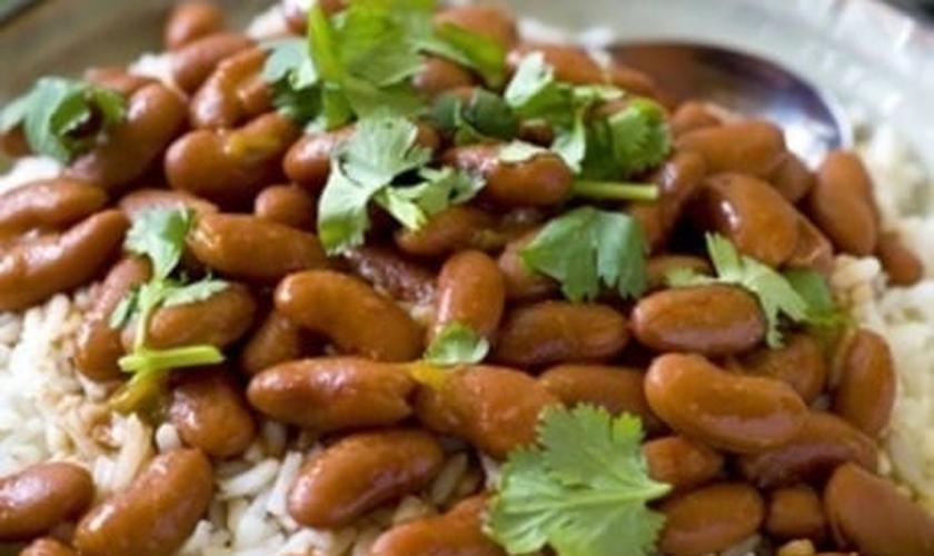 arroz e feijão