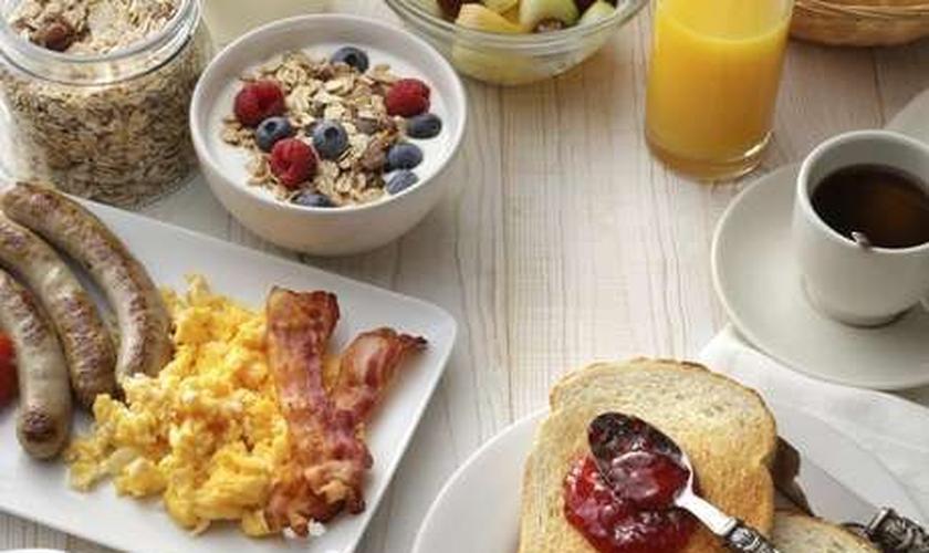 Alimentos certos para o café da manhã