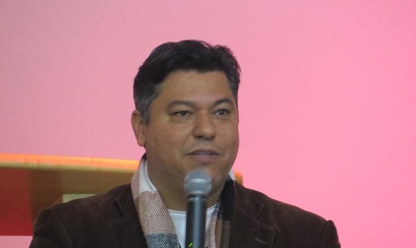 Pastor Flávio Sauer, presidente do Núcleo de Comunhão Pastoral