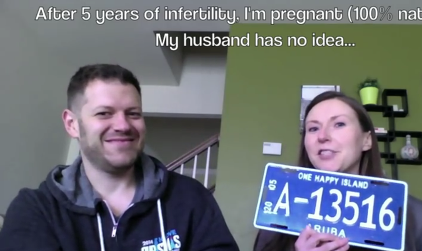 Casal engravida por meio de método 100% natural após cinco anos de tentativas