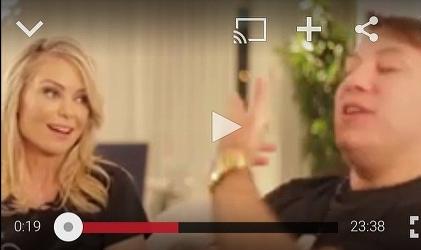 Bianca Toledo e Felipe Heiderich em vídeo