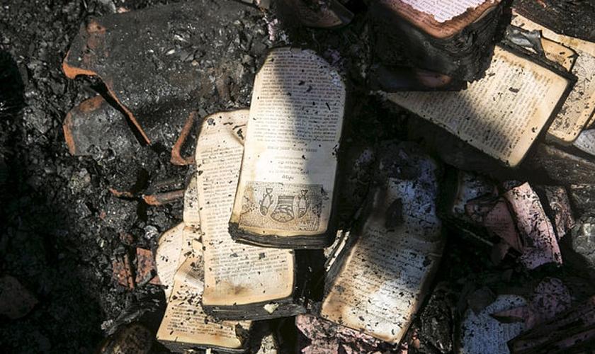 Igreja localizada em Tabgha, às margens do Mar da Galiléia, foi incendiada por extremistas.