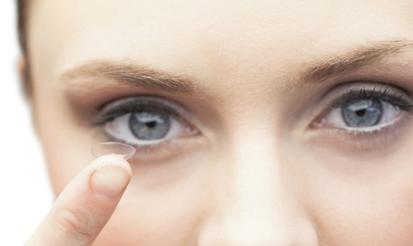 Maquiagem para lente de contato