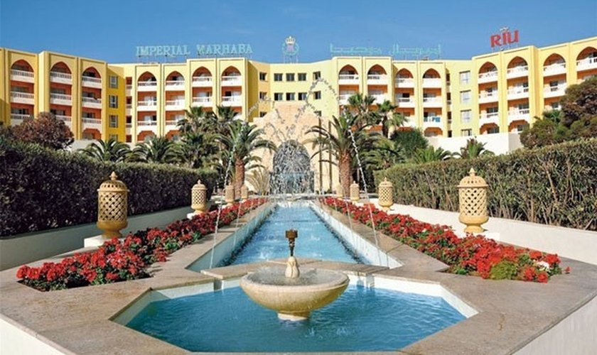 Hotel Imperial Marhaba em Sousse, na Tunísia. (Pinterest/Riu Hotels and Resorts)