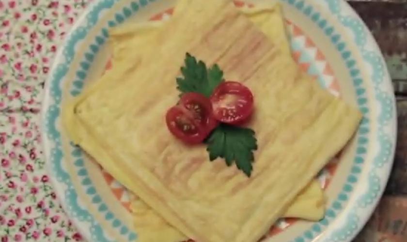 Crepioca de sanduicheira