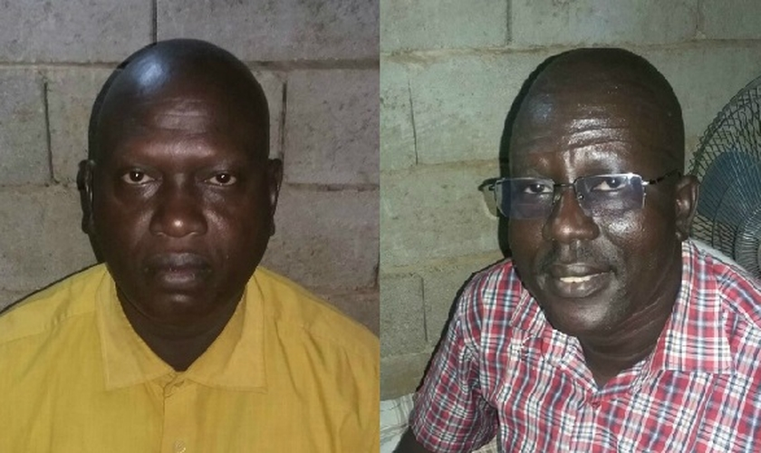 Os pastores estão detidos por sérias acusações puníveis com a morte ou prisão perpétua.