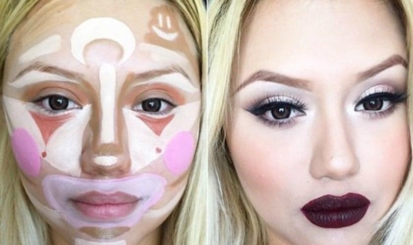 contorno facial