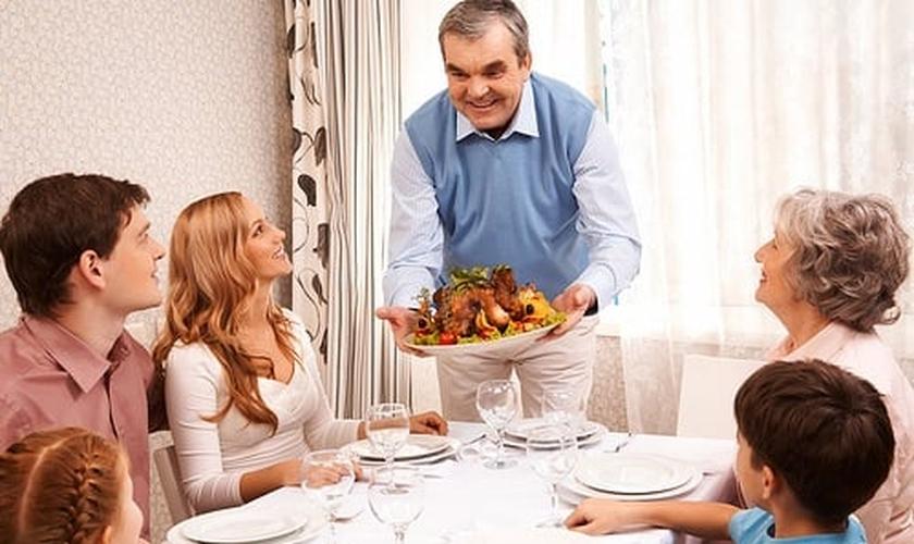 Almoço de Dia dos Pais
