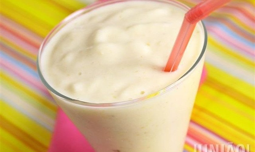 Smoothie de banana e maçã