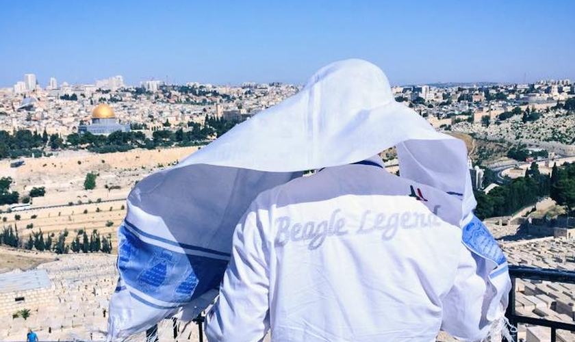 A emoção que Israel gera nos turistas acontece em muitos pontos históricos do país. (Foto: Joel Engel)