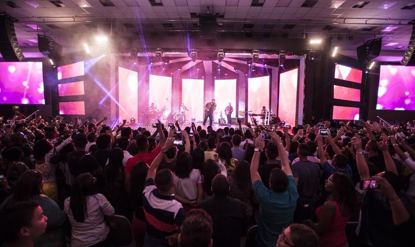 O evento aconteceu na Assembleia de Deus Vitória em Cristo, no Rio de Janeiro (Foto: Divulgação)