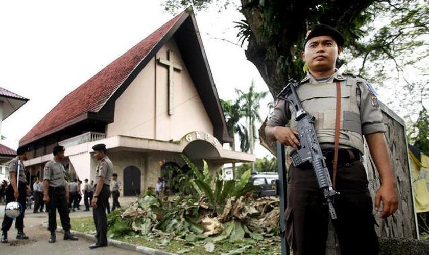 O fechamento destas igrejas vem após o agravamento da violência na província. (Foto: Asia News)
