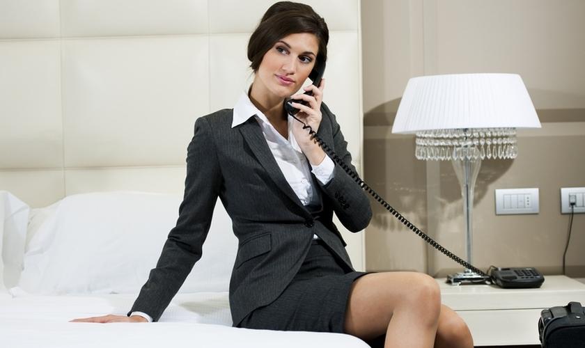 A mídia norte-americana relatou diversos casos de pessoas que receberam esses tipos de chamadas em seus quartos hoteleiros e foram roubadas. (Foto: Aerial Telephones)
