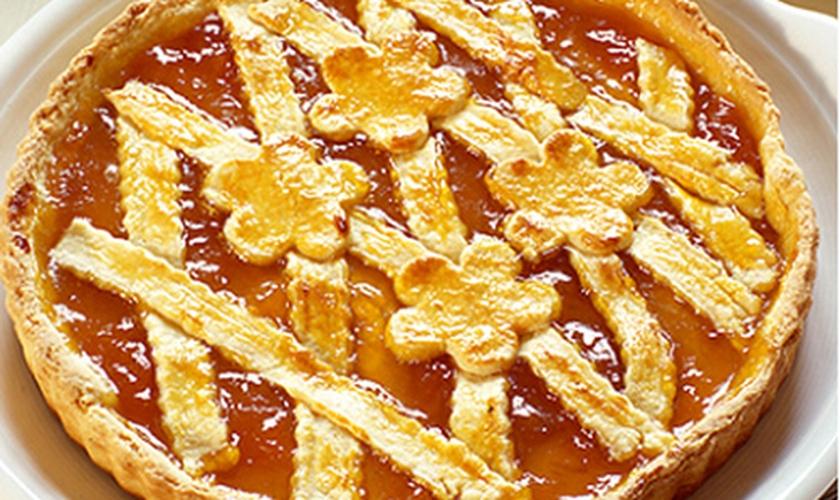 Torta de Damasco com geleia Bonne Maman Apricot. (Foto: Divulgação)