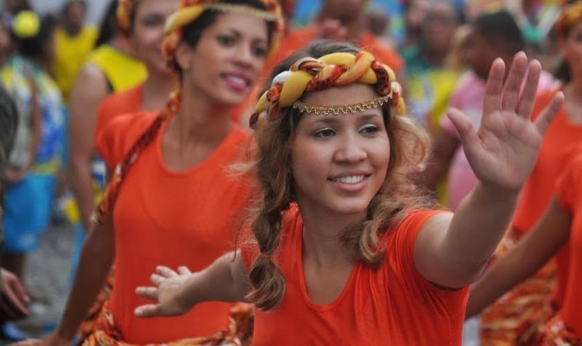 Integrantes da Igreja Batista Missionária da Independência (IBMI), em Salvador. (Foto: AG Fotos)