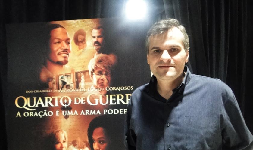 Pastor Rinaldi Digilio fala sobre família, divórcio, redes sociais e oração. (Fonte: Guiame/ Mariana Ebenau)
