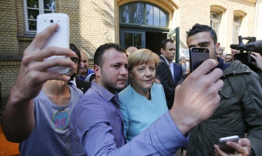 Angela Merkel falou dos benefícios do multiculturalismo para a compreensão do cristianismo. Imagem: Reuters